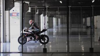 MotoGP™ stars set some flying laps at Catalunya