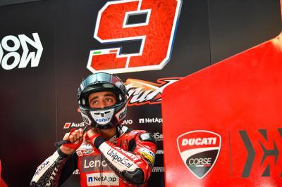 Petrucci reveals the time he almost quit MotoGP™