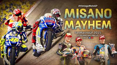 Vintage MotoGP™: 2015 San Marino Grand Prix