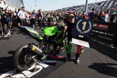 Carrasco, una pionera que mantiene vivo el sueño de MotoGP™