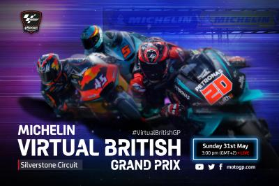 È ora di seguire il Michelin® Virtual British Grand Prix!