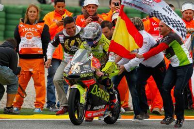 Valencia 2011: el gran día de Terol, el último rey de 125cc
