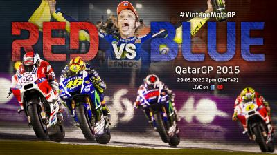 Vintage MotoGP™ | 2015 #QatarGP