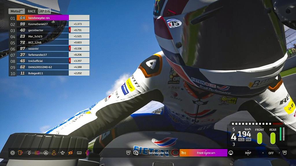 Bo Bendsneyder, NTS RW Racing GP, Michelin Virtual British Grand Prix