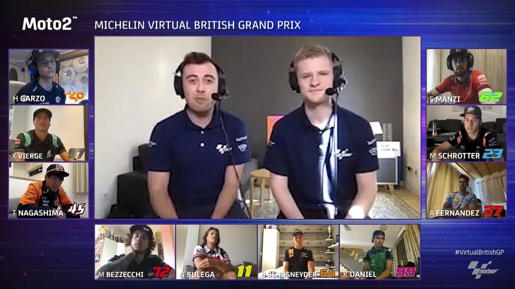 Moto2, Michelin Virtual British Grand Prix