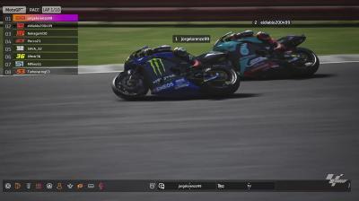Virtual MotoGP™ Race recap: best moments from the British GP
