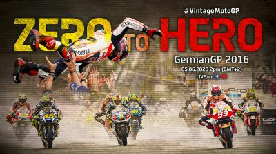 Vintage MotoGP™ | 2016 #GermanGP
