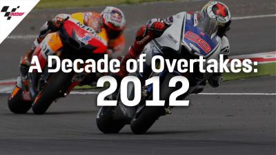 The Best Overtakes from 2012