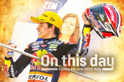 On this day: Marc Marquez' first World Championship victory