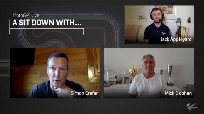 A sit down with: Mick Doohan y Simon Crafar