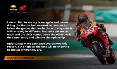 With the announcement of the new 2020 @MotoGP calendar, @marcmarquez93