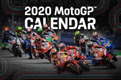 El calendario para 2020: ¡MotoGP™ está de vuelta!