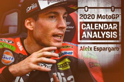 What does the 2020 calendar mean for Aleix Espargaro?