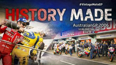 Vintage MotoGP™: 2006 #AustralianGP