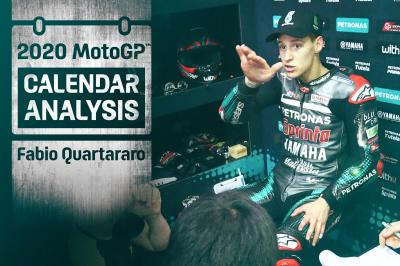 "Quartararo: ""One injury could mean you miss a lot of races"""