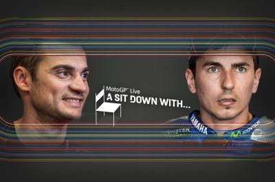 'A sit down with' ospita Pedrosa e Lorenzo