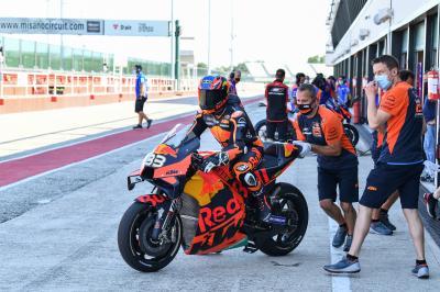 Le MotoGP™ de retour à Misano pour des essais privés…