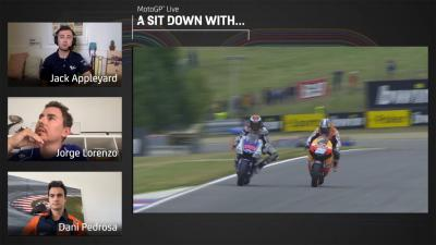 A sit down with: Dani Pedrosa y Jorge Lorenzo