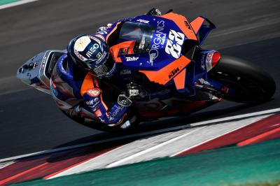 Oliveira fastest ahead of Day 3 at Misano