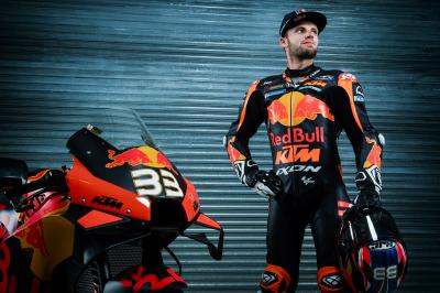 Binder to stay with KTM for seventh year, second in MotoGP™