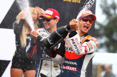 Get set for a Sit Down With - Watch the 2012 Czech GP