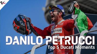 El Top 5 de Petrucci con Ducati