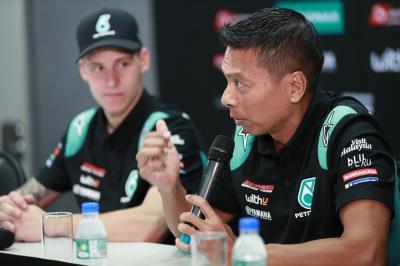 Were Petronas Yamaha SRT 'lucky' to unearth Quartararo?