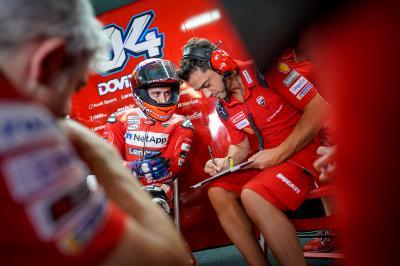 """Dovizioso: """"Inizio subito la riabilitazione. Penso a Jerez"""""""