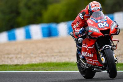 Will Dovizioso be ready for the opening race?