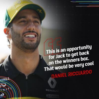 @danielricciardo had this to say on the @ausmotogp 'In the