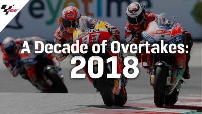 The Best Overtakes from 2018