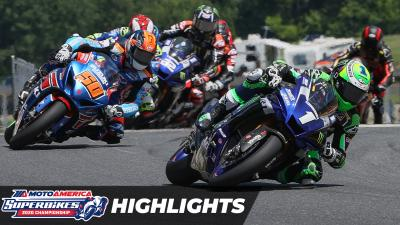 MotoAmerica Superbikes At Road America 2: Race 2 Highlights