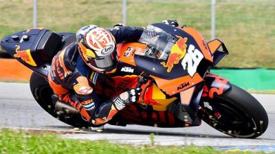 2 days at Brno testing just before the start of