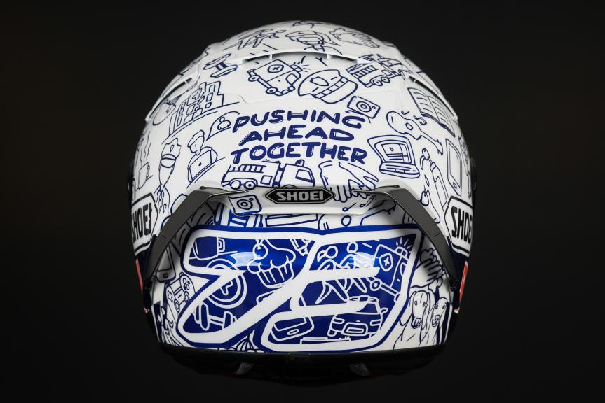 Special Helmet Alex Marquez, Repsol Honda Team