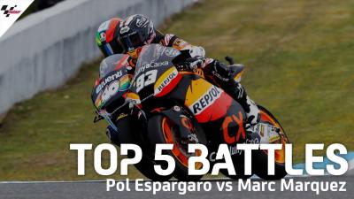 Top 5 battles: Pol Espargaro vs Marc Marquez