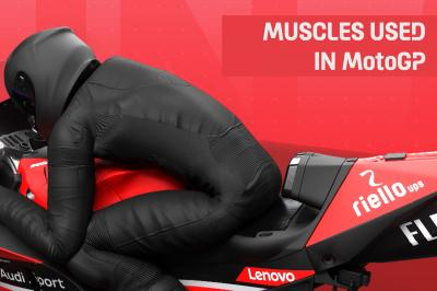 Strong enough for MotoGP™? Check out the muscles you need...
