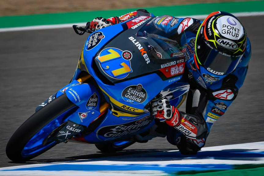 Sergio Garcia, Estrella Galicia 0,0, Jerez MotoGP™ Official Test