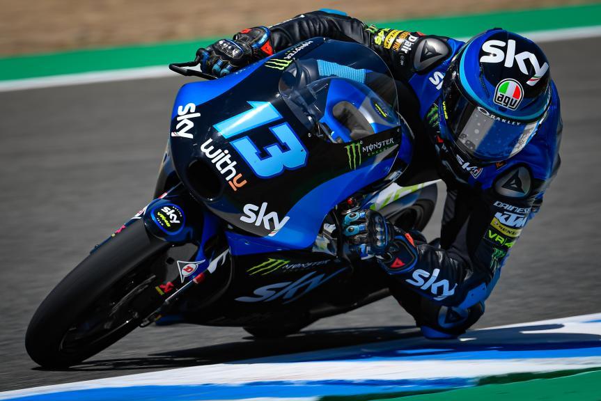 Celestino Vietti, SKY Racing Team Vr46, Jerez MotoGP™ Official Test