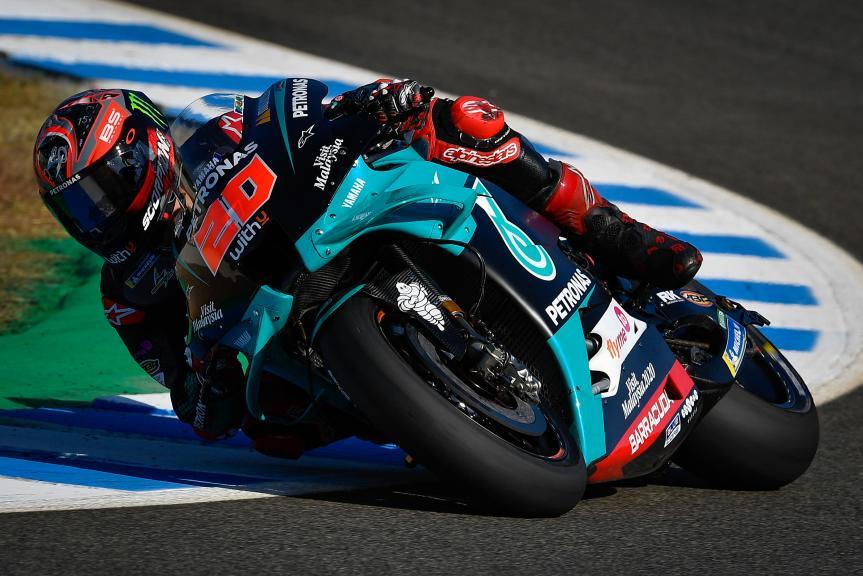 Fabio Quartararo, Petronas Yamaha SRT, Jerez MotoGP™ Official Test