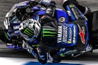 Yamaha irrumpe como un trueno en Jerez