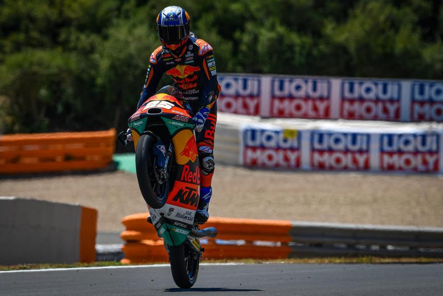 Raul Fernandez, Red Bull KTM Ajo, Jerez MotoGP™ Official Test