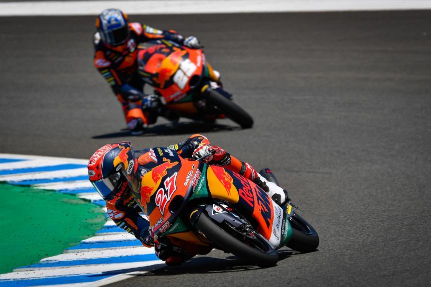 Kaito Toba, Red Bull KTM Ajo, Jerez MotoGP™ Official Test