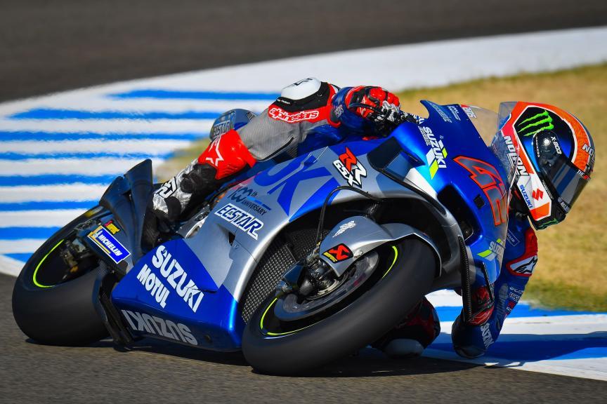 Alex Rins, Team Suzuki Ecstar, Jerez MotoGP™ Official Test