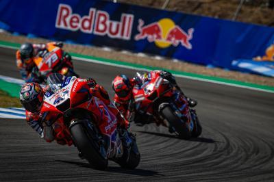 Las redes se vuelcan con el regreso de MotoGP™ en el Test