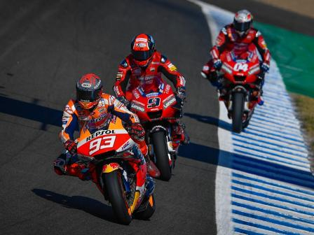 Best shots of MotoGP, Jerez MotoGP™ Official Test