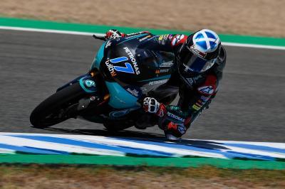 McPhee deja huella como el más rápido del Test en Moto3™