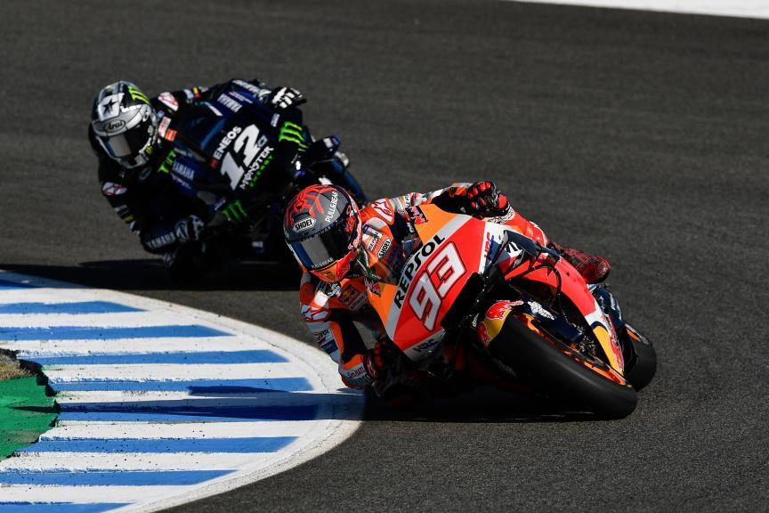 Marc Marquez, Maverick Viñales, Jerez MotoGP™ Official Test