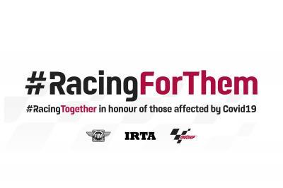 #RacingForThem: l'omaggio del MotoGP™