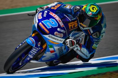 Rodrigo fastest again in FP2 as he dominates Day 1 in Moto3™