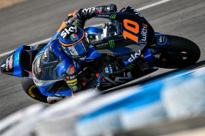 Marini parte in quarta e domina il venerdì a Jerez